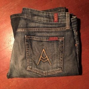 "7 For All Mankind ""A"" Pocket - Sz 29"